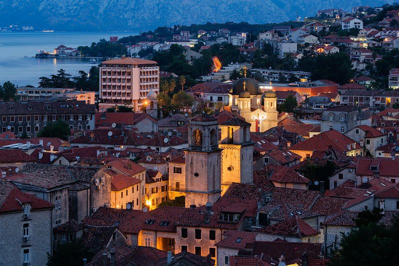Elevated View of Stari Grad (Old Town) at Dawn