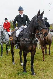 Alan Kasket at the meet - Belvoir Hunt Opening Meet 2016.