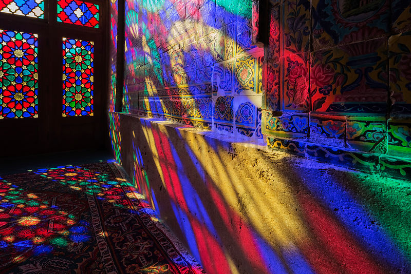 Prayer Hall of the Nasir-ol-Molk Mosque (Pink Mosque)