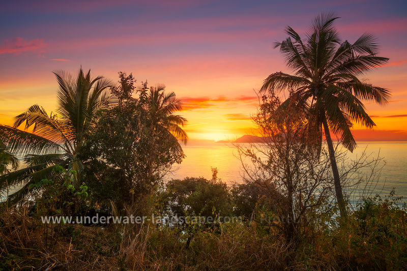 Sunset at Mayotte Island - Cocothree