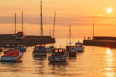 ABERAERON SUNSET photos
