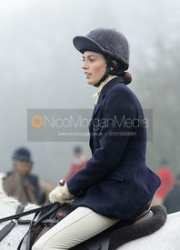 Lady Alice Manners at the meet