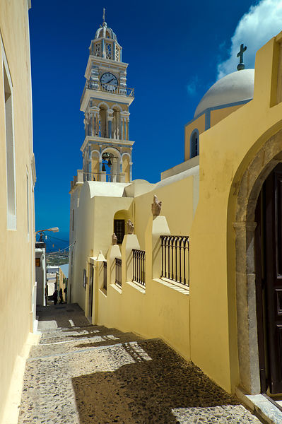 Catholic Cathedral, Santorini