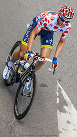 Polka-Dot Jersey- Michael Morkov - Tour de France 2012