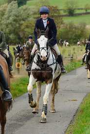 Harriet Walker - The Cottesmore Hunt at Somerby, 2-11-13