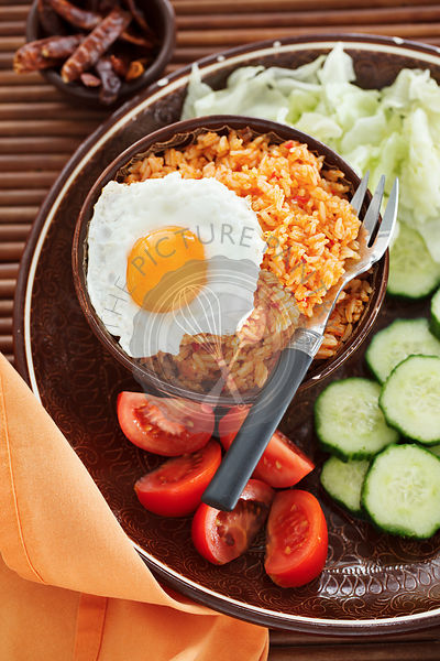 Indonesian fried rice nasi goreng