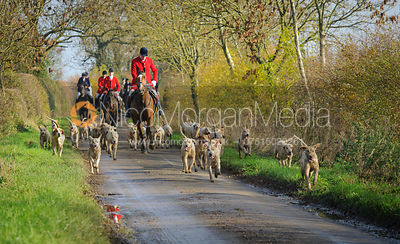 The Cottesmore Hunt at Oak House 31/10 photos