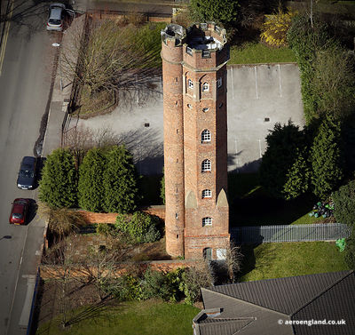 aerial photograph of Perrott's Folly Birmingham England UK