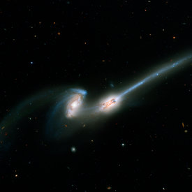 Galaxies des souris NGC 4676