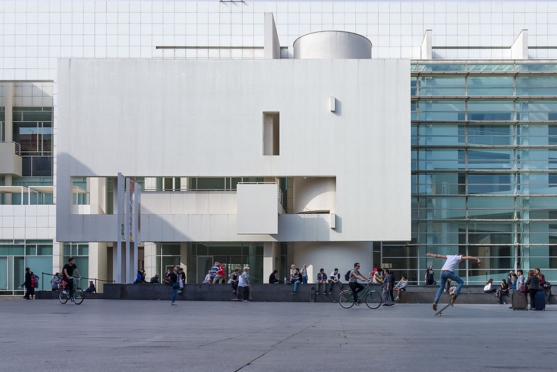 Musée des Arts Contemporains - Barcelone, Espagne | Richard Meier & Partners Architects LLP