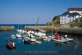 France, Morbihan (56), Ile de Groix, Port-Lay