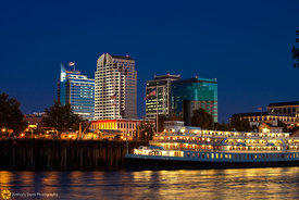Delta King and the Sacramento Skyline #11