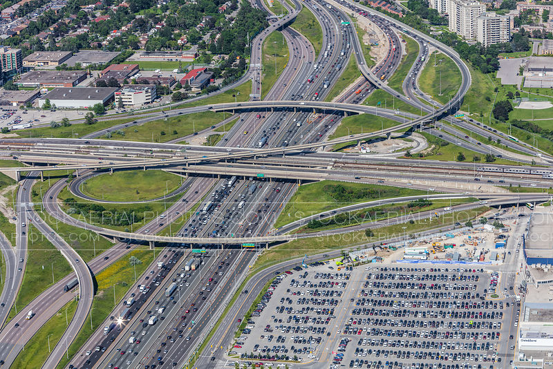 Highway 401 and Allen Road Interchange, Toronto