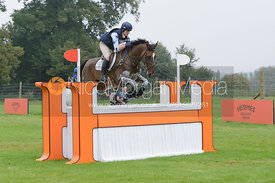 Sophie Jenman and GERONIMO - cross country phase,  Land Rover Burghley Horse Trials, 6th September 2014.