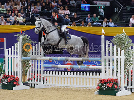 Thomas Plaster and Amelie JR Z, Horse of the Year Show 2010