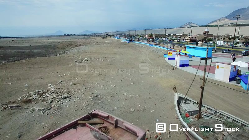 Coastal Fishing Town Salaverry Peru