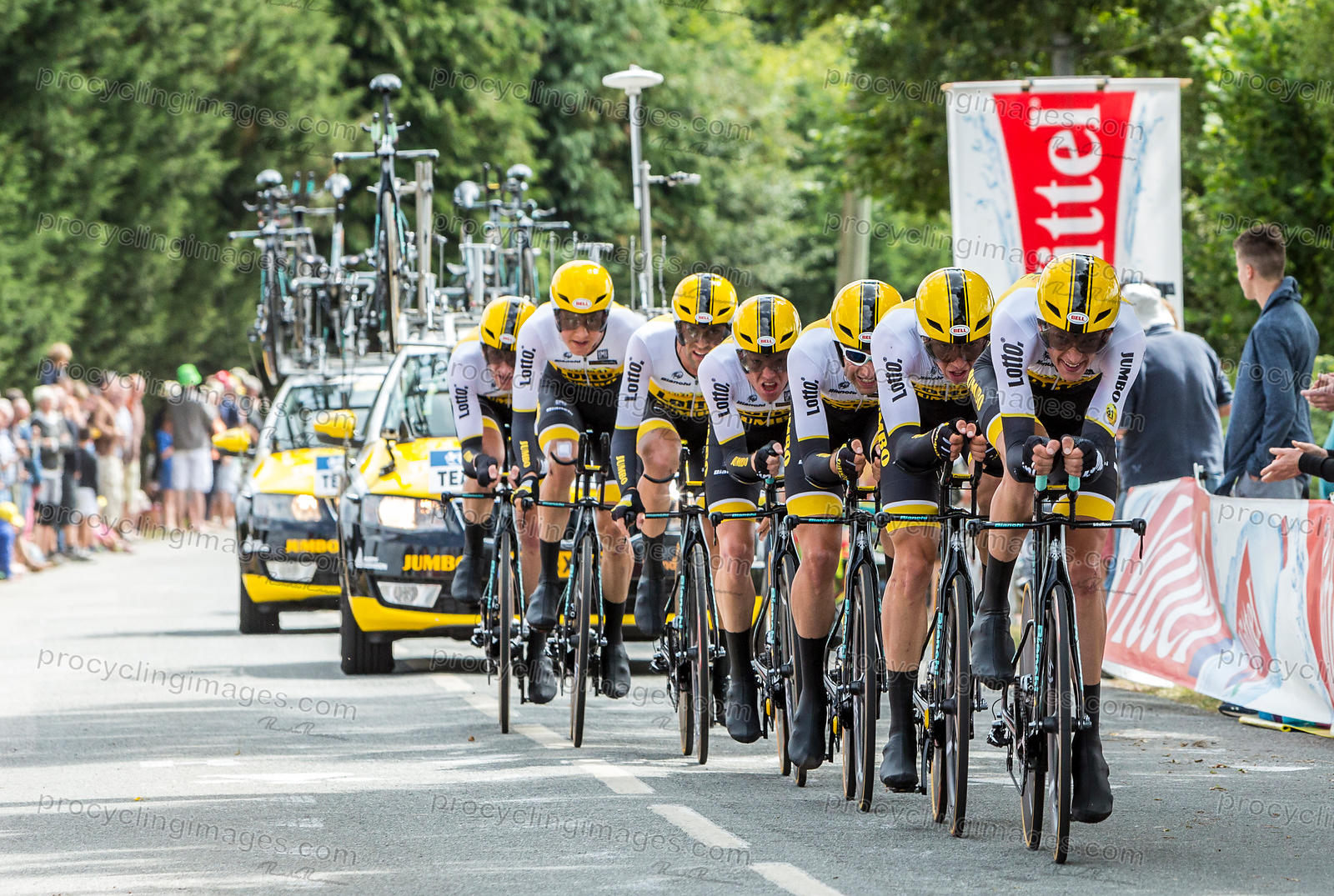 Team LottoNL Jumbo - Team Time Trial 2015