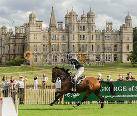 William Fox-Pitt and PARKLANE HAWK - cross country phase,  Land Rover Burghley Horse Trials, 7th September 2013.
