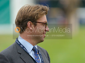 Steven Wilde - dressage phase,  Land Rover Burghley Horse Trials, 6th September 2013.