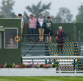 The Cottesmore Posse - dressage phase,  Land Rover Burghley Horse Trials, 30th August 2012.