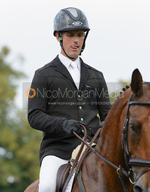 Gordon Murphy and IMPERIAL - show jumping phase, Burghley Horse Trials 2014.