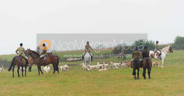 - The Cottesmore Hunt at Marefield 26/8