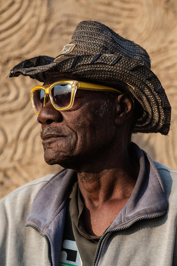 Portrait of a Herero Man