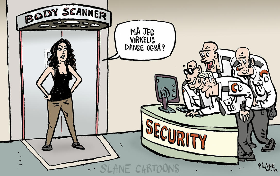 Body Scanner (Norwegian)