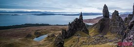 Old man of Storr isle of Skye Scotland UK