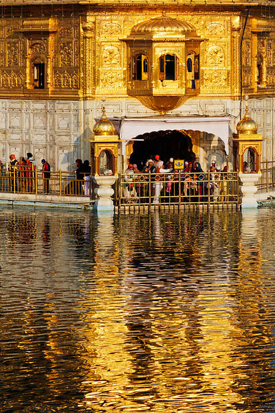 Elevated View of The Golden Temple