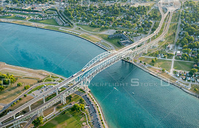 Blue Water Bridge Sarnia Ontario to Michigan