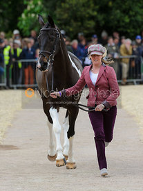 Nicola Wilson and BELTANE QUEEN - First Horse Inspection, Mitsubishi Motors Badminton Horse Trials 2014