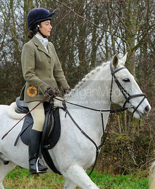Izzie Reames - The Belvoir Hunt at Sheepwash 31/12