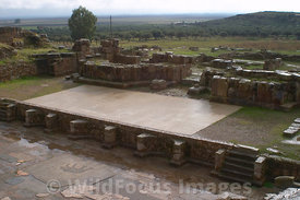 Main Stage of the Theatre at Bulla Regia, Tunisia; Landscape