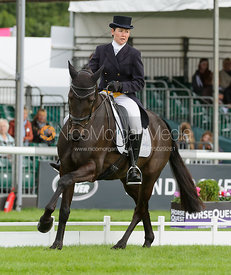 Kerry Varley and BLUESTONE LUKE - Burghley 2015