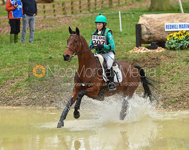 Sarah Ennis and SHANBO QUEEN BEE - Belton International Horse Trials 2017