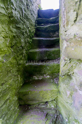Rahinnane Castle Steps- Ventry, Ireland