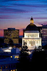 The State Capitol Building at Night #1