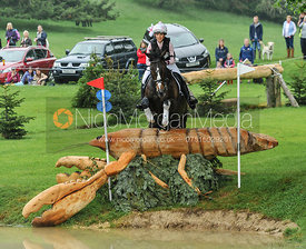 Becky Woolven and CHARLTON DOWN RIVERDANCE - CCI***