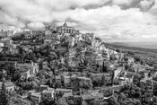 I arrived at this classic hillside town in Provence late morning with less than ideal light. I made use of the contrast in the scene and clouds in the sky by creating it as a black and white image.