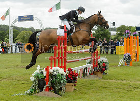 Abi Boulton and TILSTON TIC TOC - Bramham International Horse Trials, June 2017