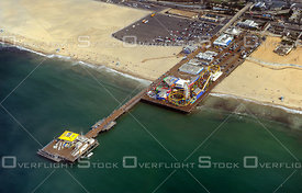 The Santa Monica Pier California