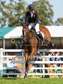 Kristina Cook and STAR WITNESS, showjumping phase, Land Rover Burghley Horse Trials 2018