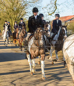 leaving the meet in Owston