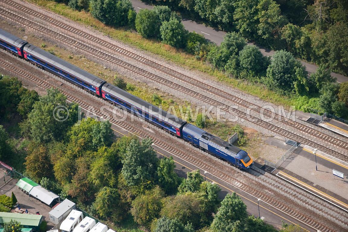 train tracks and orange1 - photo #43