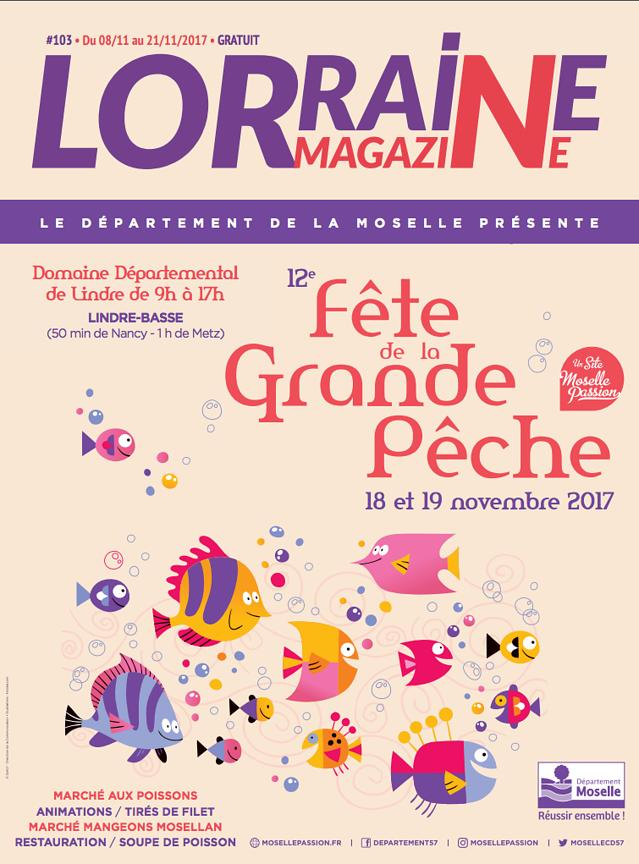LORRAINE MAGAZINE (FRANCE) - NOV 2017 photos