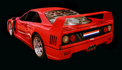 Ferrari F40 Art Photographs