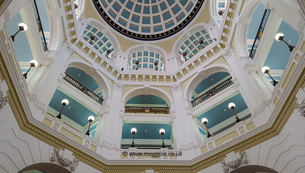 Within the Port of Liverpool Building