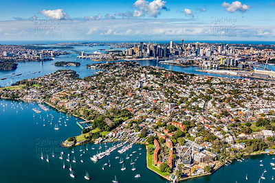 SYdney City From Balmain