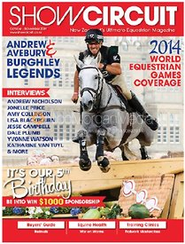 Andrew Nicholson and AVEBURY - Show Circuit Magazine (NZ)